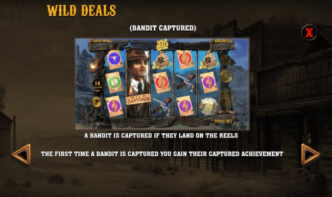 Wild Deals Bandit Captured rules