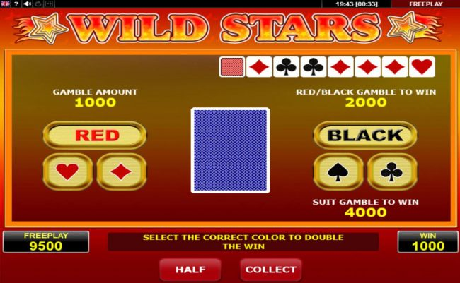 Gamble Feature Game Board