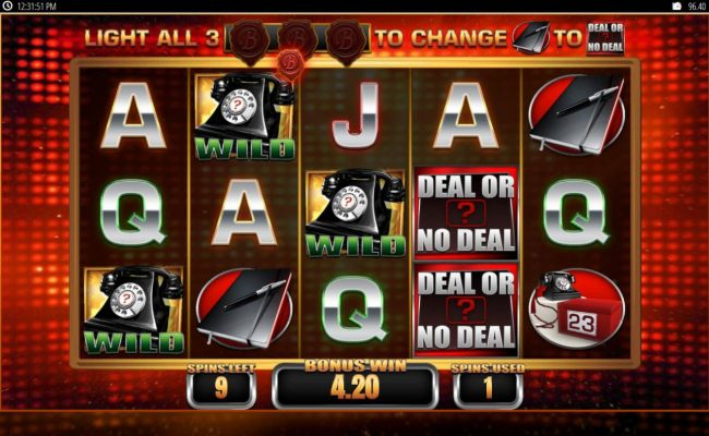 Free Spins Game Board - Collect B seals every time a notebook appears on the reels.