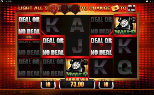 A winning Five of a Kind triggered during the free spins feature.