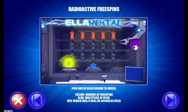 Raioactive Free Spins Rules
