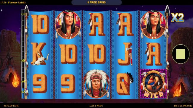 Free Spins Game Board