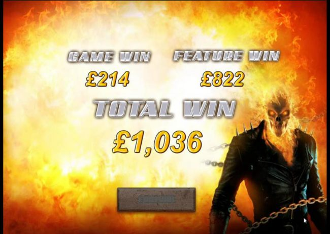 free game feature leads to a 1036 credit payout