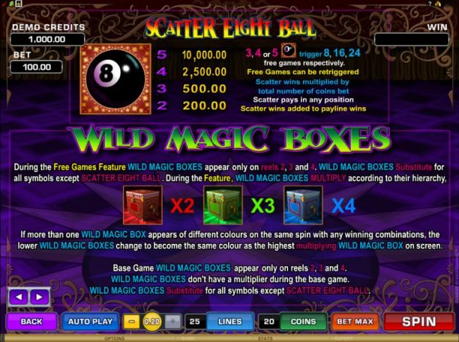 scatter and wild symbols rules