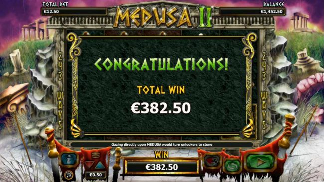 The free games feature pays out a total prize award of $382