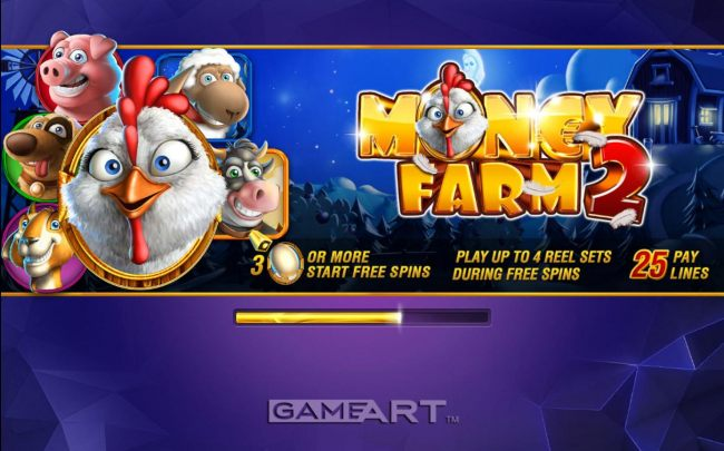Game features include: Scatters, Free Spins and 25 Pay Lines.