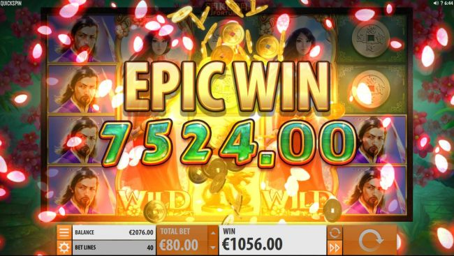 An Epic 7,524.00 Win.