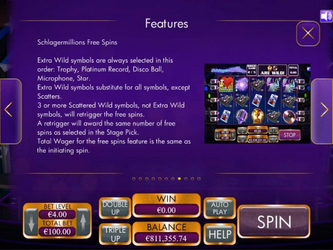 Free Spins Rules - Continued