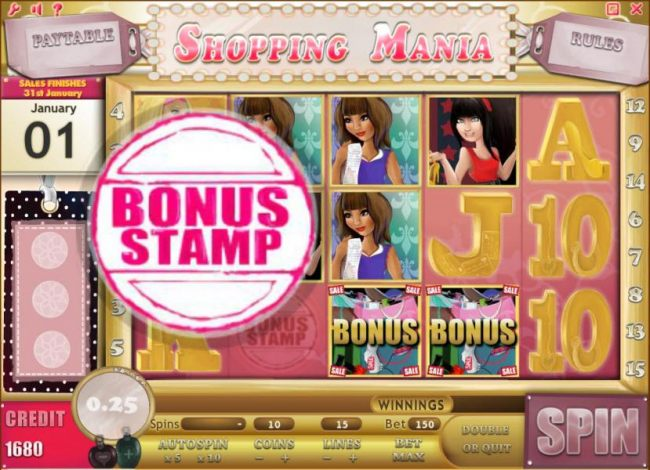collect 3 bonus stamps within 30 spins to enter the bonus pairs round