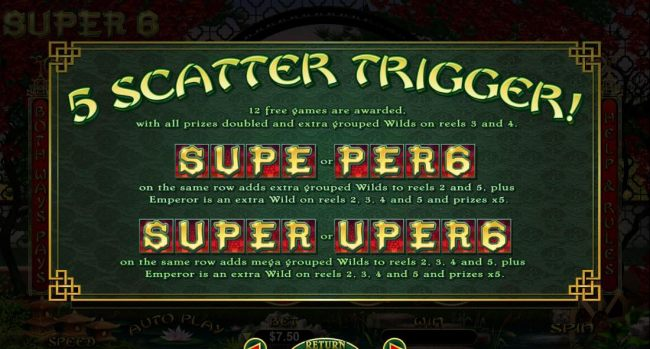 5 Scatter Trigger Rules - continued.