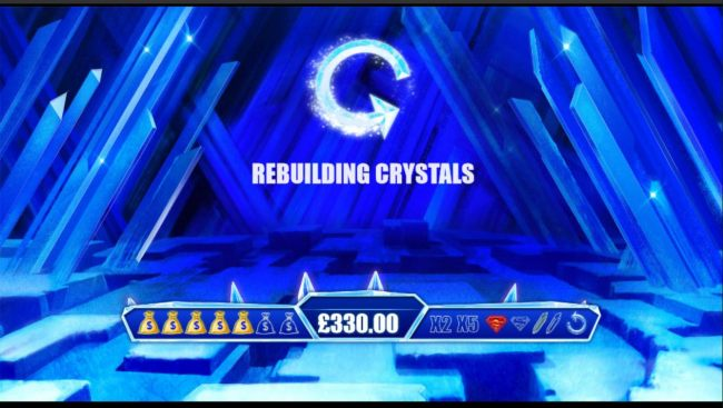 Finding the rebuild symbol will reset the game board back to fresh state.