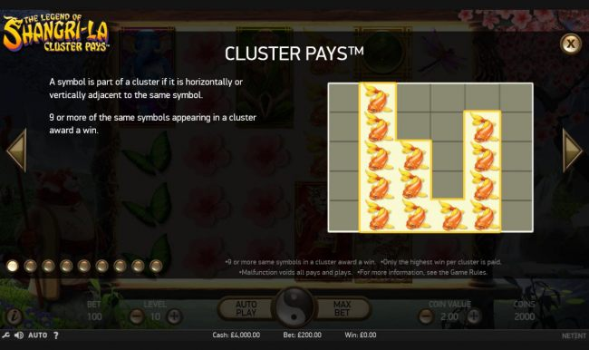 Cluster Pays Rules