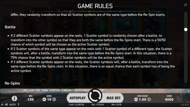 Battle Feature Rules
