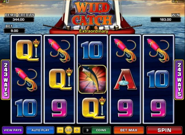 multiple winning paylines triggers 183 coin jackpot